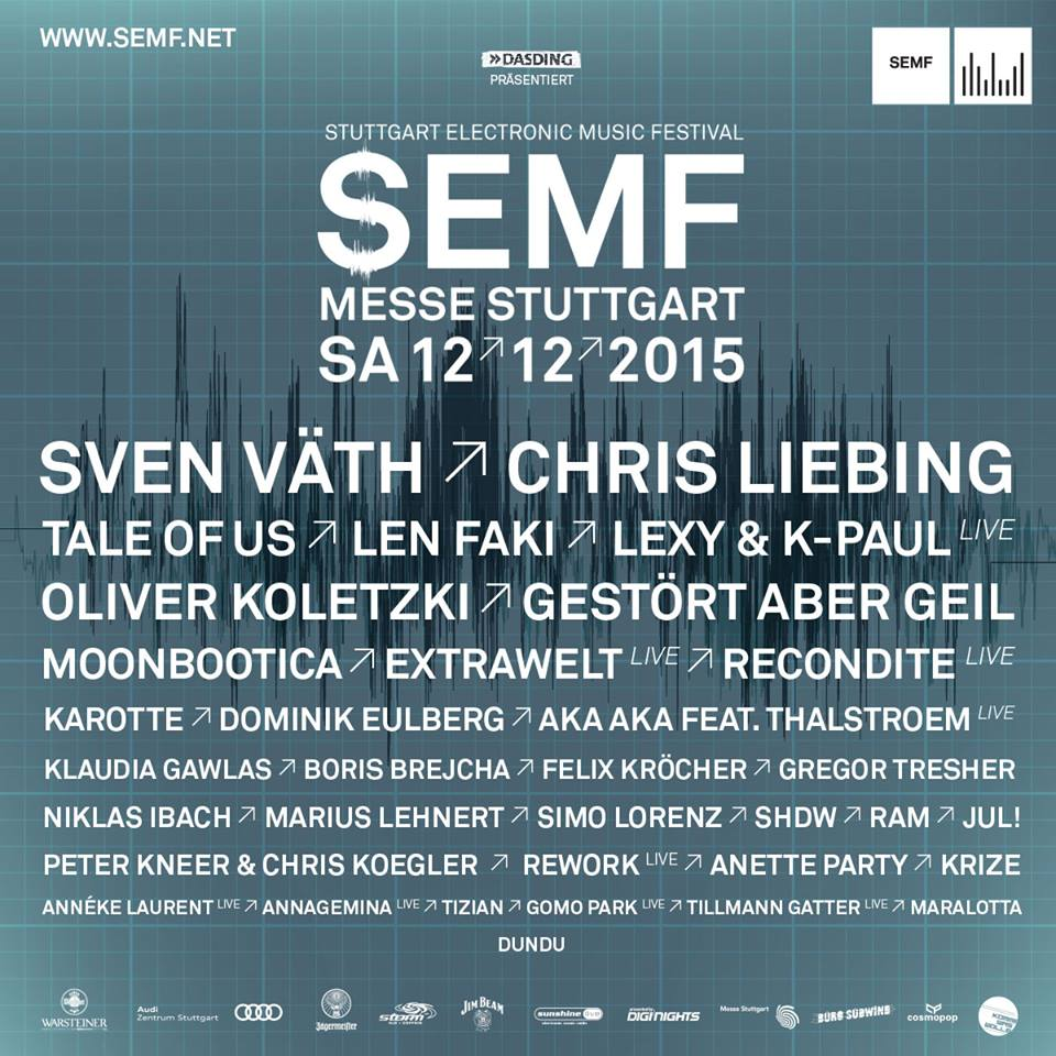 download → livesets from Stuttgart Electronic Music Festival 2015