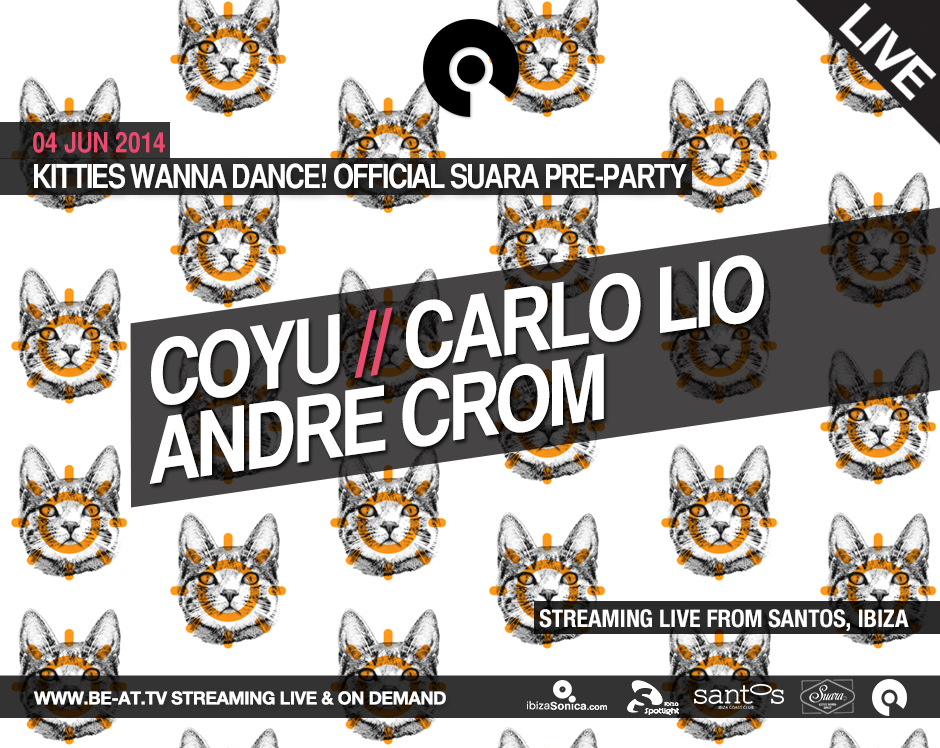 download →Suara Kitties Wanna Dance! Official Pre-Party, Hotel Santos, Ibiza - 720p HD - 04-Jun-2014
