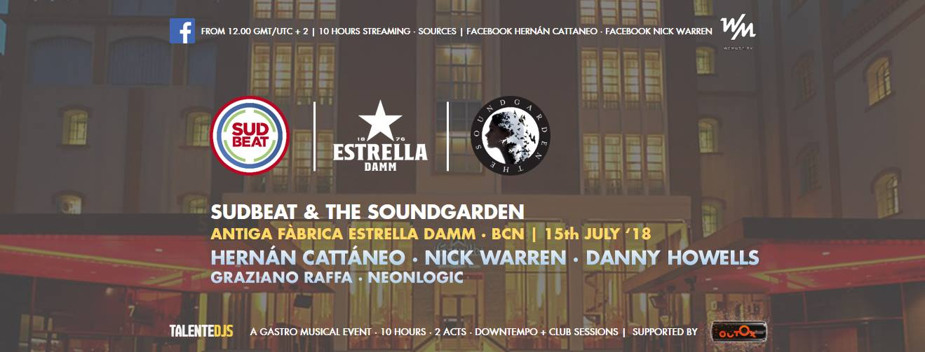 Danny Howells - live at Sudbeat x The Soundgarden (Estrella Damm, Barcelona) - 15-Jul-2018