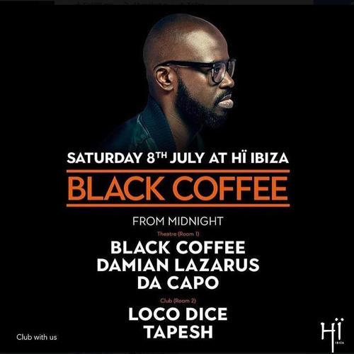 download → Tapesh - live at Black Coffee presents (Hi Club, Ibiza) - Part 01 - 07-Aug-2017
