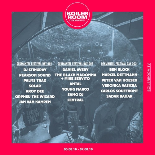download → The Black Madonna b2b Mike Servito - live at Boiler Room x Dekmantel Festival - 06-Aug-2016