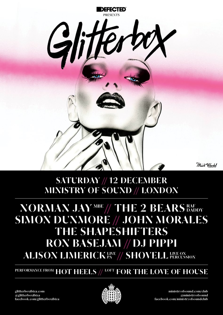 download → The Shapeshifters - live at Defected presents Glitterbox (Ministry of Sound, London) - 12-Dec-2015