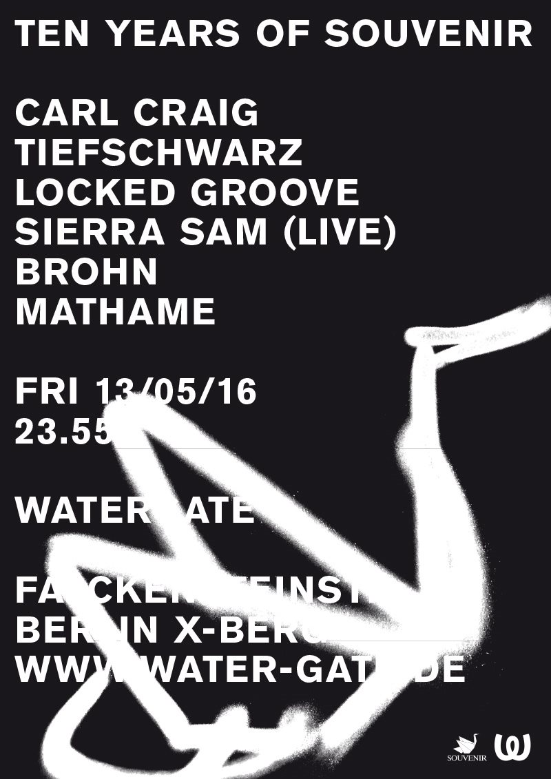 Tiefschwarz - live at Souvenir's 10 Year Anniversary Party (Watergate) - May 2016