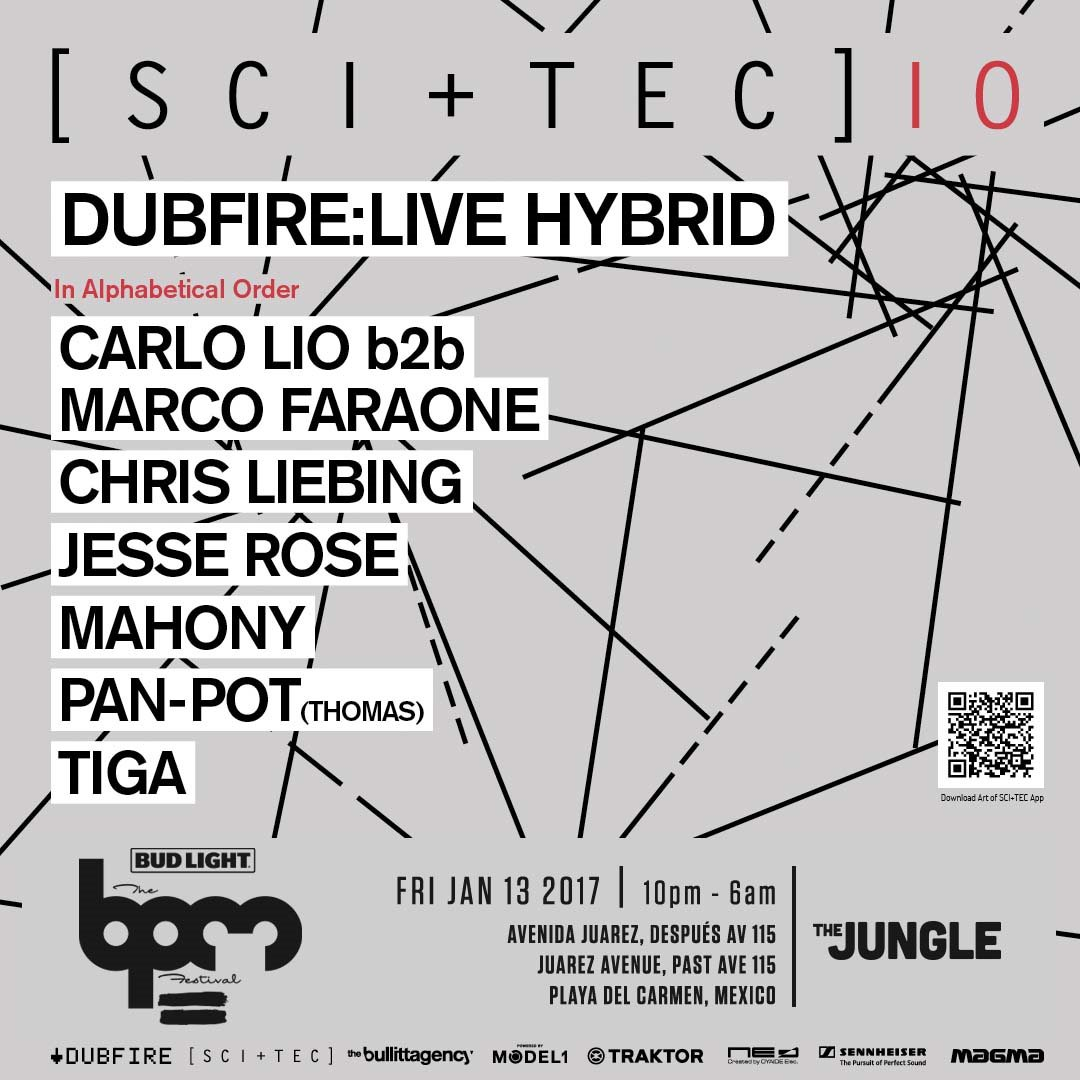download → Tiga - live at SCI-TEC, Palapa Kinha (THE BPM 2017, Mexico) - 14-Jan-2017