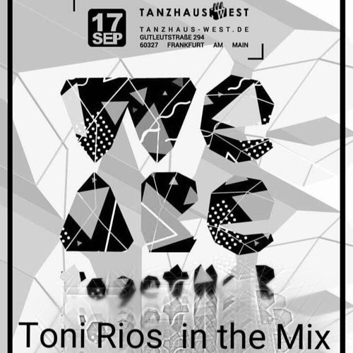 download → Toni Rios - live at Tanzhaus (Frankfurt) - 17-Sep-2016