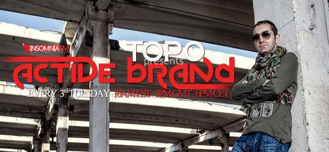 download → Topo - Active Brand 047 (Insomniafm) - March 2014