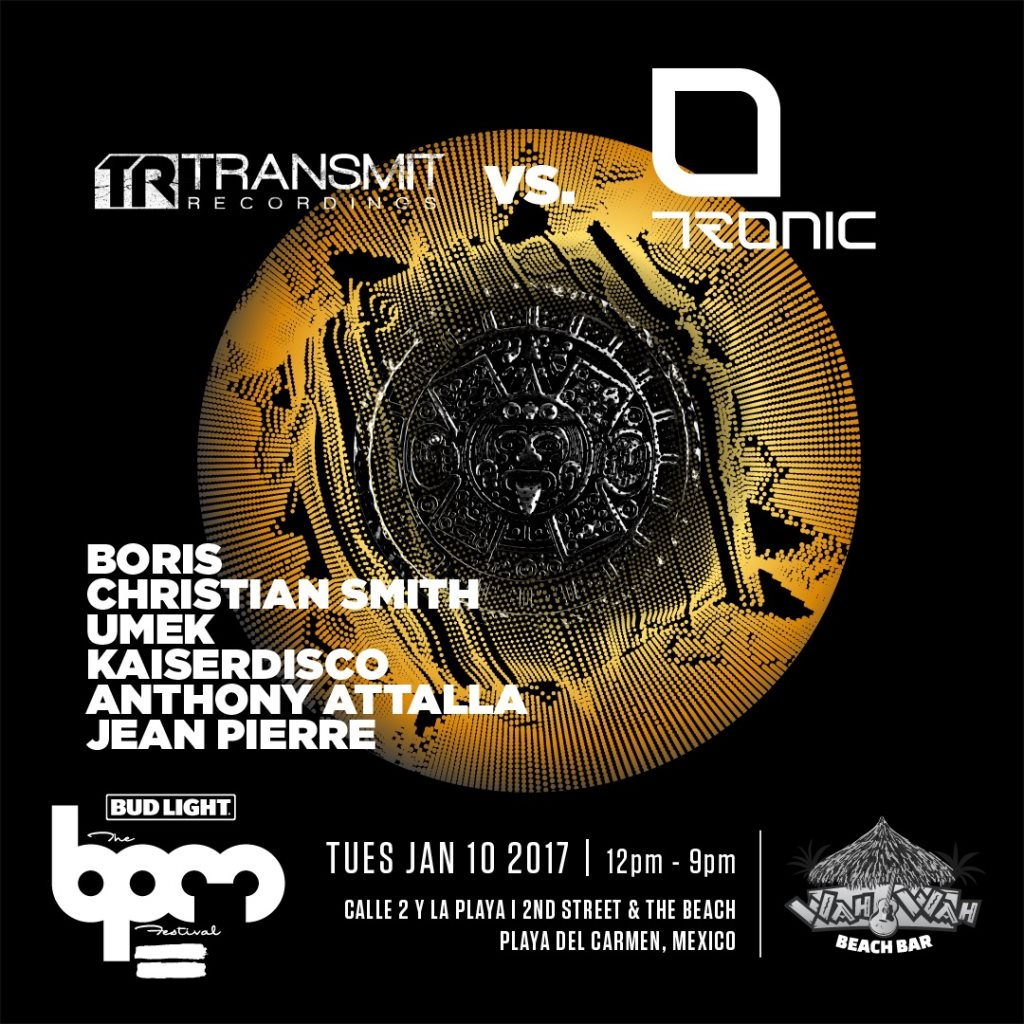 download → Jean Pierre - live at Transmit VS Tronic, Wah Wah Beach Bar (THE BPM 2017, Mexico) - 10-Jan-2017