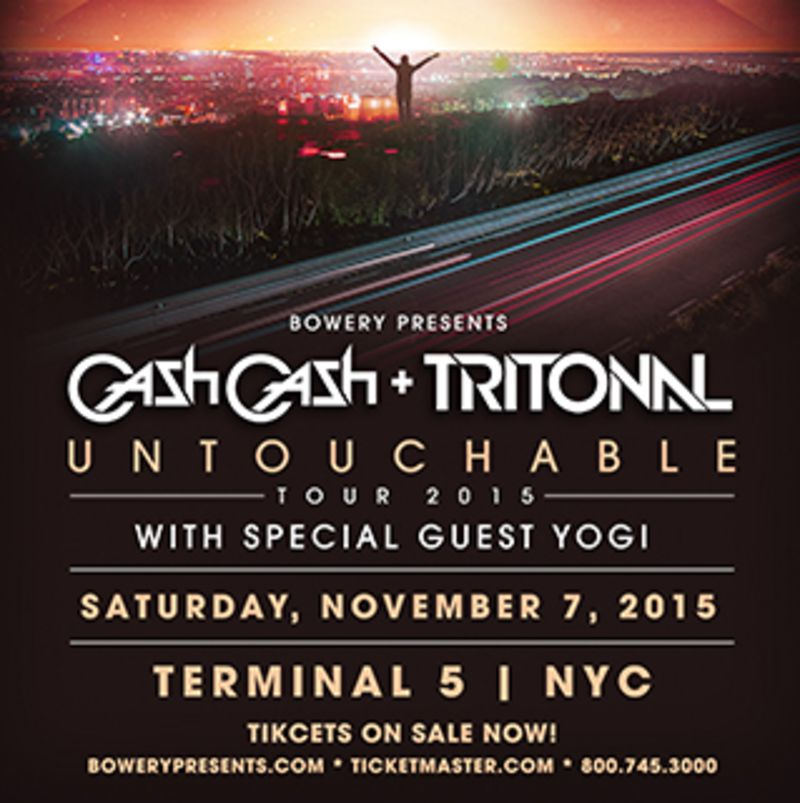 download → Tritonal - Live at Untouchable Tour (Terminal 5, New York) - 07-Nov-2015