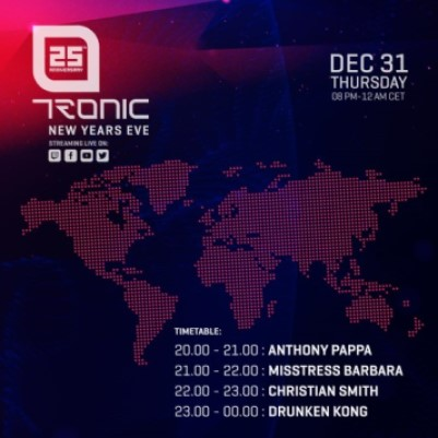 download → Anthony Pappa - Live @ Tronic NYE Stream - 31-Dec-2020