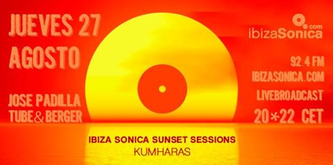 download → Tube & Berger - Ibiza Sonice presents Sunset Sessions, Kumharas, Ibiza - 27-Aug-2015