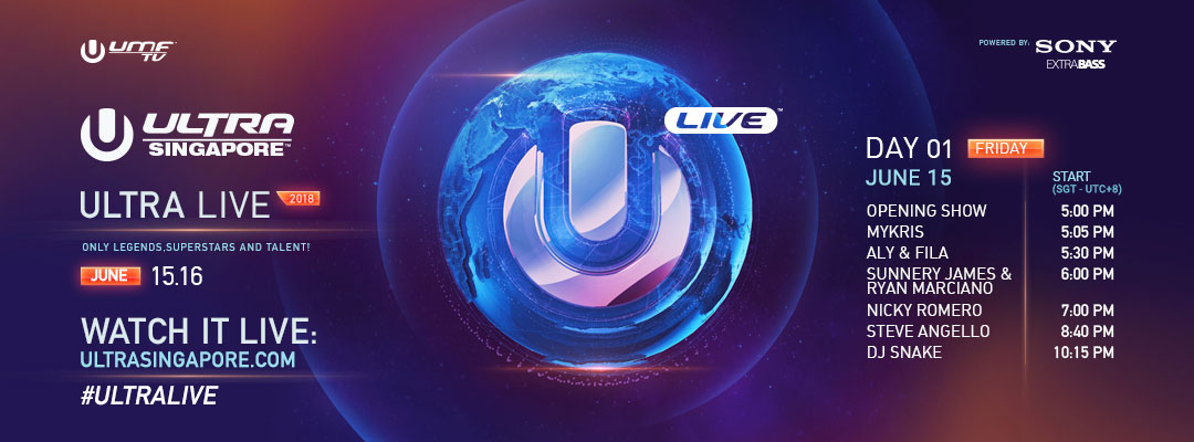 download → Steve Angello, Nicky Romero, Sunnery James & Ryan Marciano, Aly & Fila, Mykris - live at ULTRA SINGAPORE 2018, Day 1 - Friday, 1080p HD - 15-Jun-2018