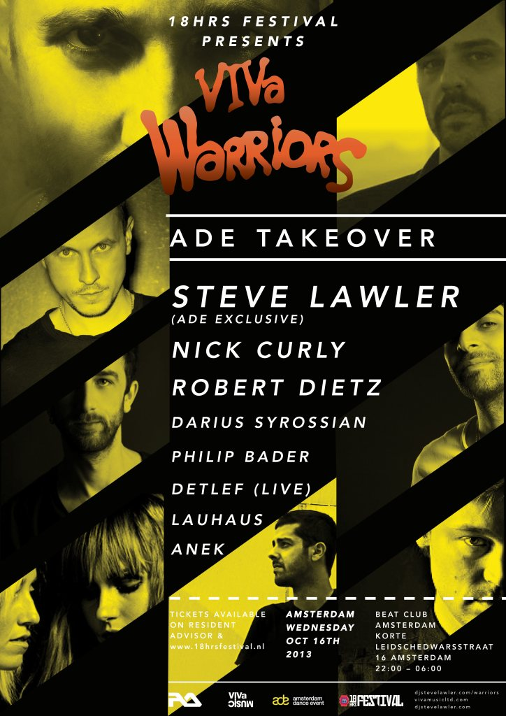 download → Lauhaus - live at VIVA Warriors, Beat Club (ADE 2013, Amsterdam) - 16-Oct-2013