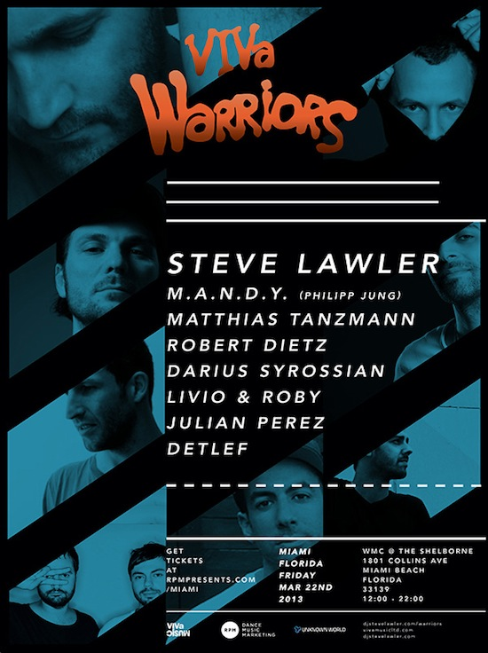 sasha replacing steve lawler @ viva warriors, wmc 2013