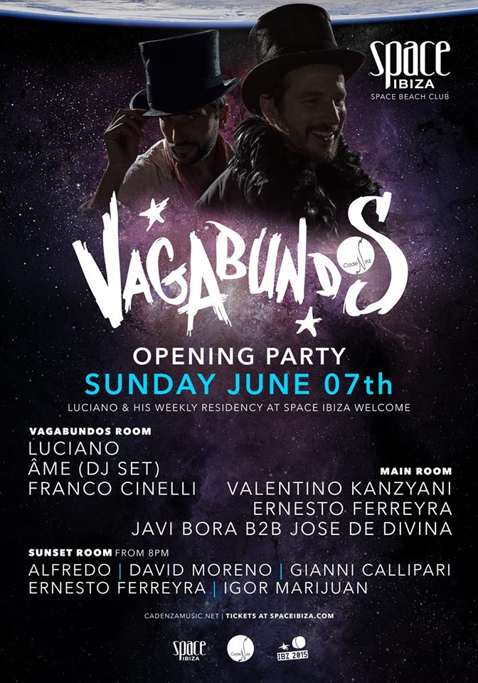 download → Franco Cinelli - live at Vagabundos Opening Party 2015, Space, Ibiza - 07-Jun-2015