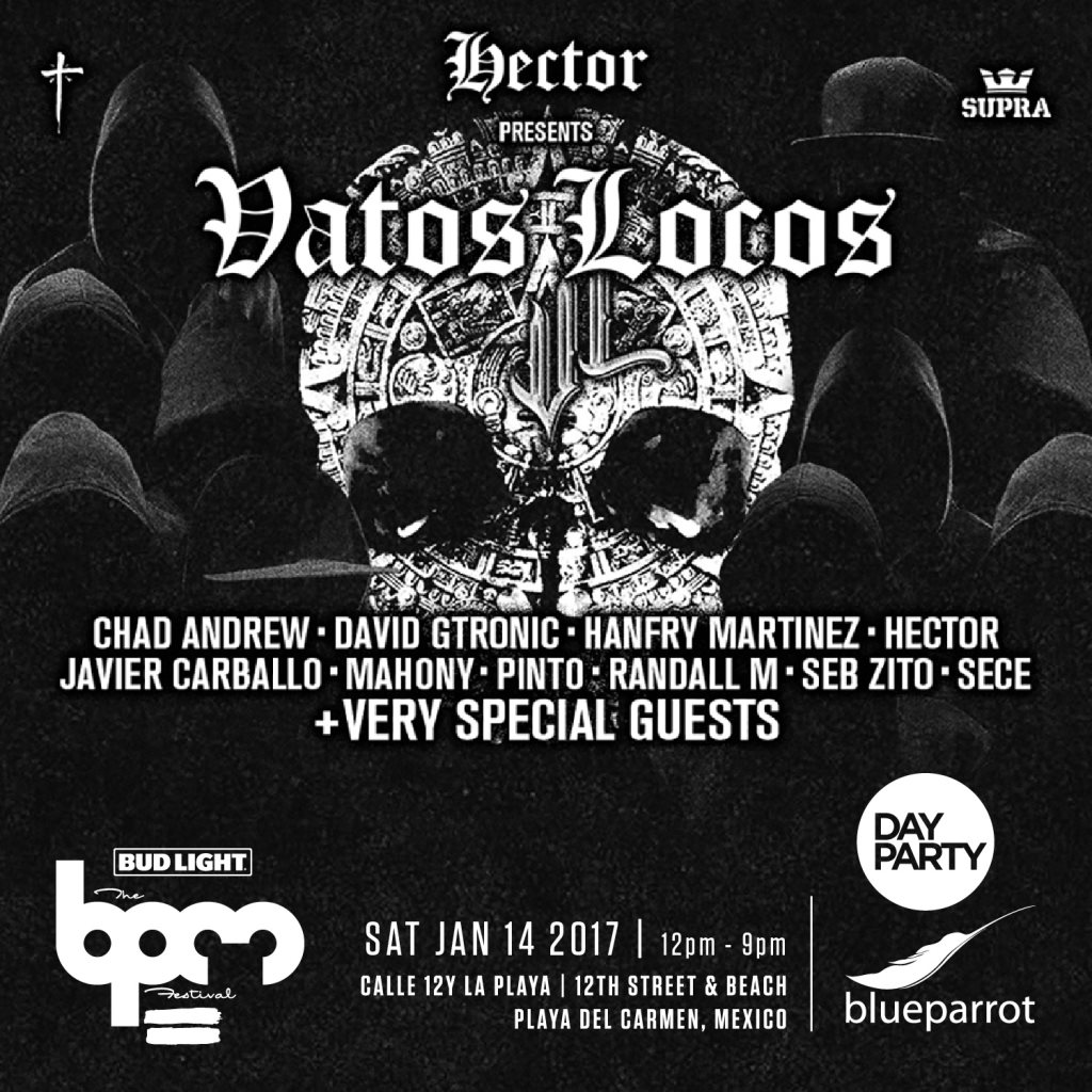 download → Seb Zito - live at Vatos Locos, Blue Parrot (THE BPM 2017, Mexico) - 14-Jan-2017