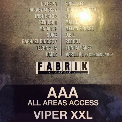 download → Viper XXL - live at Fabrik (Madrid) - 20-Feb-2016