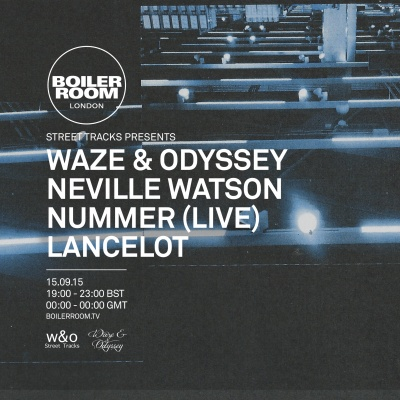Waze & Odyssey - live at Boiler Room London - 15-Sep-2015