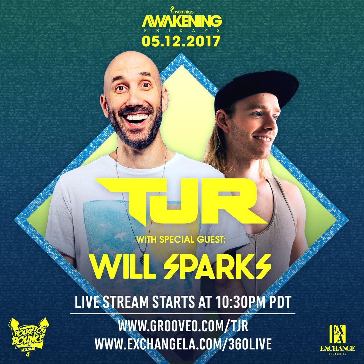 download → Will Sparks & TJR - Live at Exchange Los Angeles, 1080p Stream - 12-May-2017