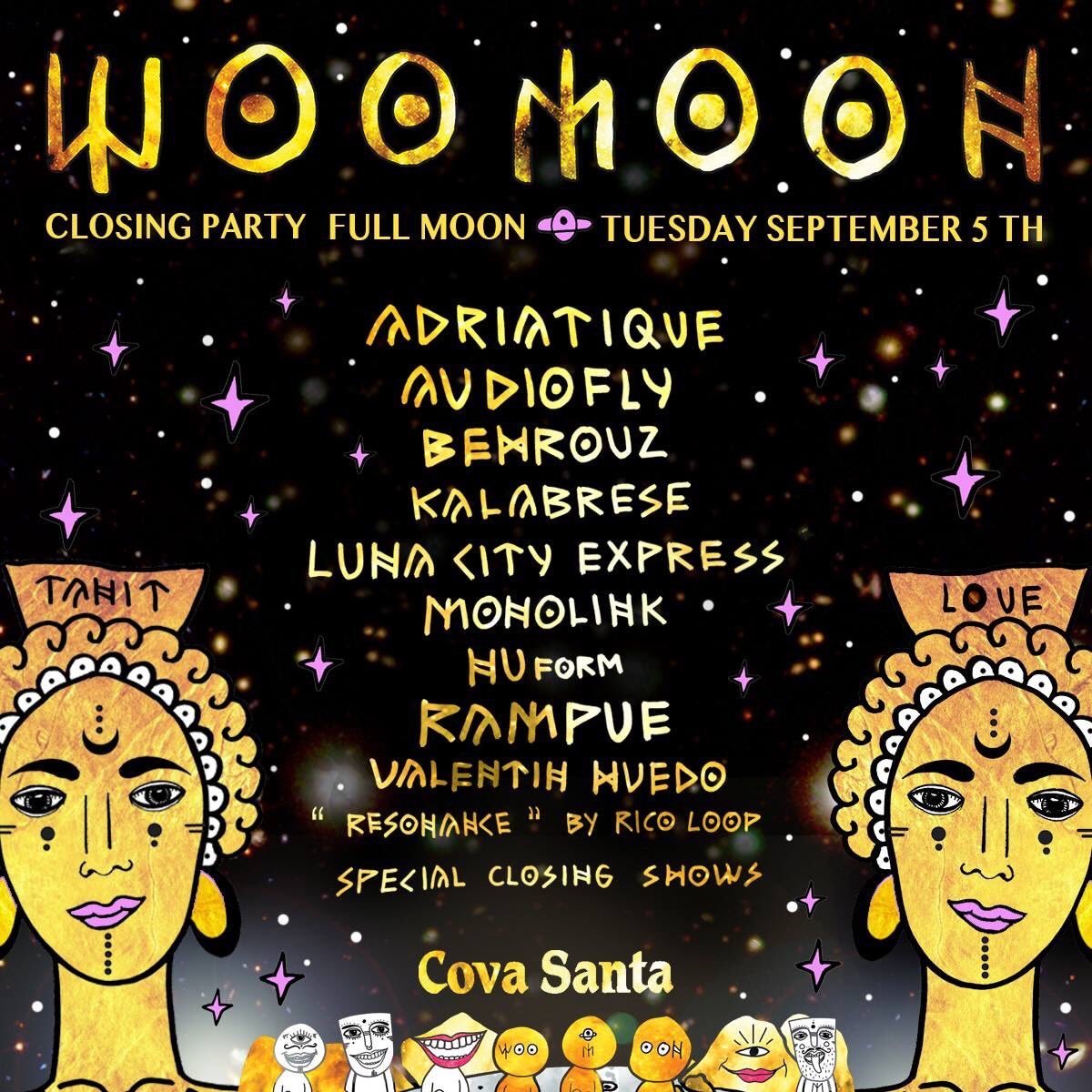 download → Rampue - live at Womoon Closing Party 2017 (Cova Santa, Ibiza) - 05-Sep-2017
