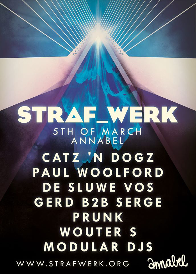 download → Wouter S - live at STRAF WERK (Rotterdam) - 05-Mar-2016