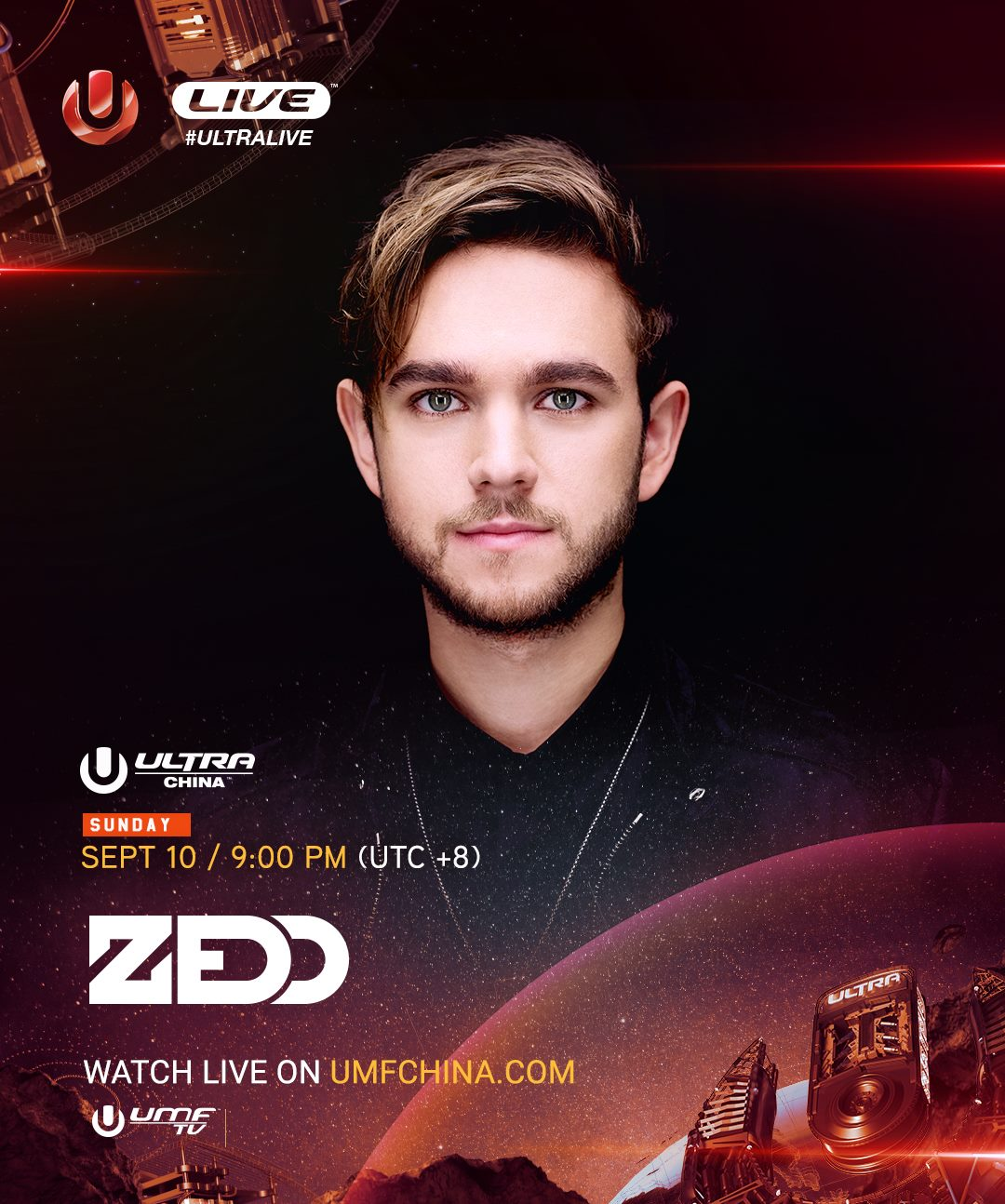 download → Zedd - live at Ultra Music Festival 2017 (China) - 10-Sep-2017