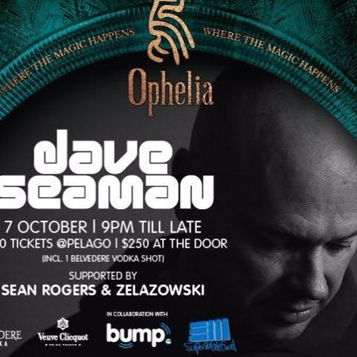 Zelazowski - live at Ophelia (London, opening for Dave Seaman) - 07-Oct-2016
