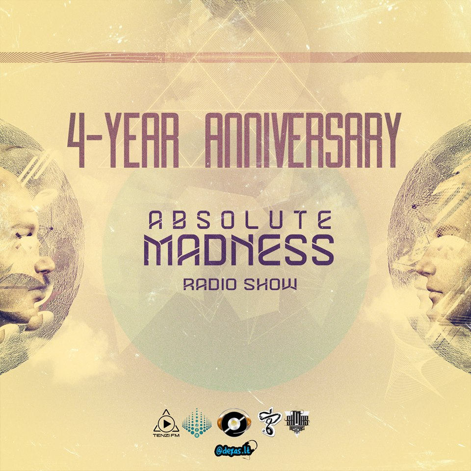 download → Andrius Budrikus, Bandzius, Neimis B, Hypnotic Duo & Guests (53 Djs in Total) - Absolute Madness [4TH ANNIVERSARY CELEBRATION] onTM RADIO - July 2013