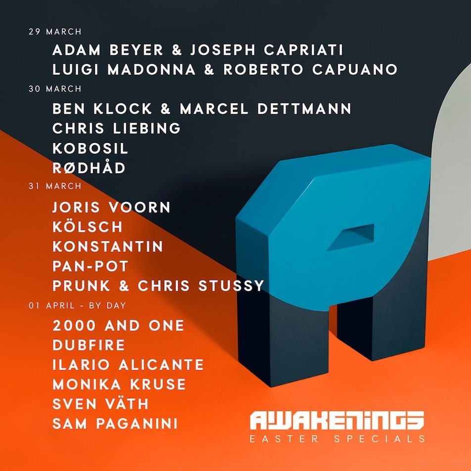 download → Ilario Alicane - Live at Awakenings Easter Special 2018 by Day (Gashouder, Amsterdam) - 01-Apr-2018