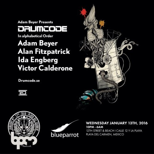 download → Drumcode Showcase, Blue Parrot (The BPM 2016, Mexico) - 13-Jan-2016