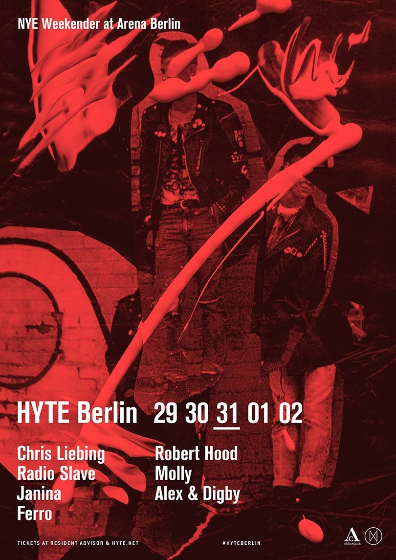 download → Radio Slave - live at HYTE (Berlin) - 31-Dec-2015
