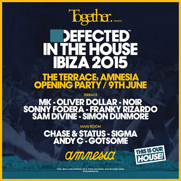 download → Oliver Dollar - live at Together & Defected In The House 2015 Opening Party, Amnesia, Ibiza - 10-Jun-2015