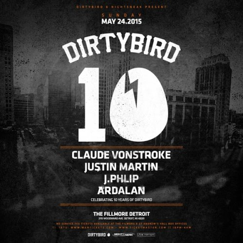 download → J.Phlip - live at Dirtybird 10, The Fillmore, Detroit - 24-May-2015