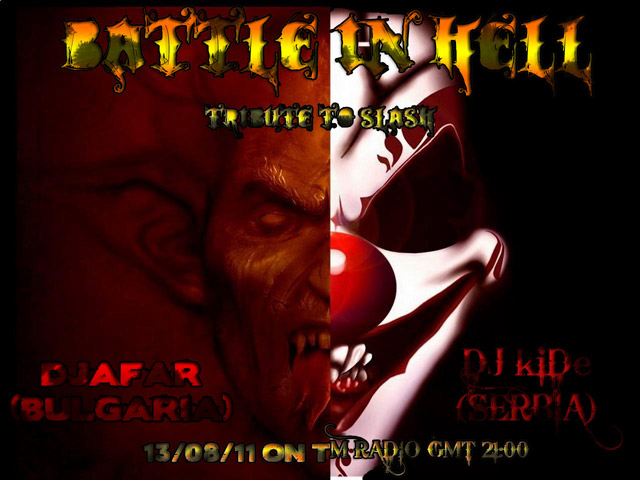 TribalMixes presents :: BATTLE IN HELL (tribute to Slash) (aired on August 18th, 2011) banner logo