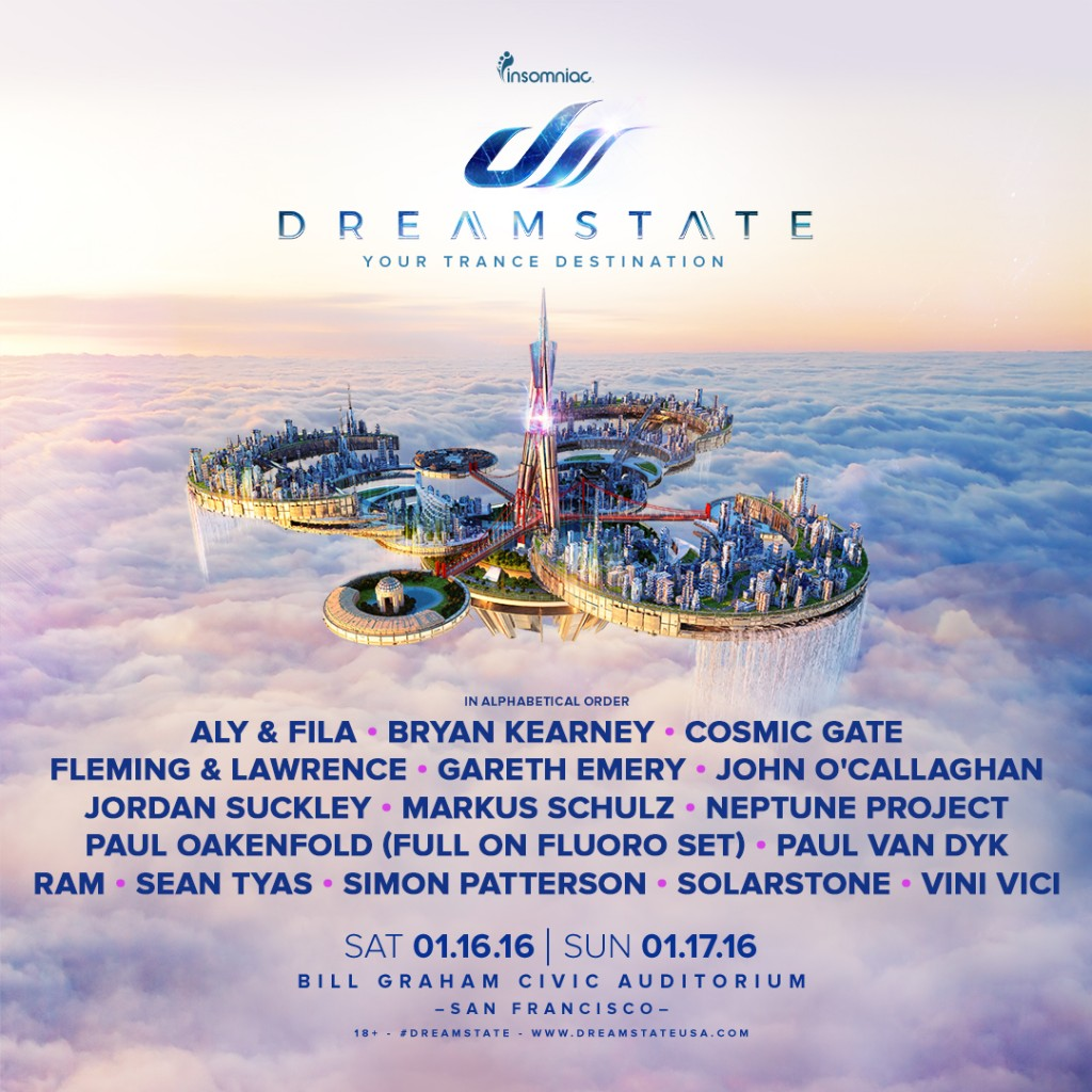 download → John O'Callaghan - Live at Dreamstate 2016 (San Francisco) - 16-Jan-2016