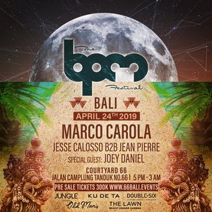 download → Marco Carola - Live @ The BPM Festival Bali (Indonesia) - 24-Apr-2019