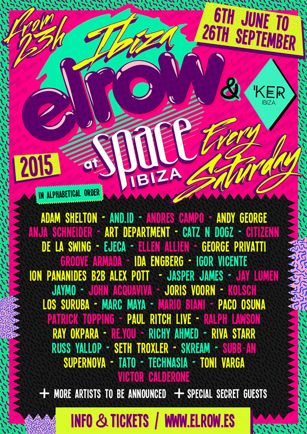 download → Paul Ritch - ElRow Saturdays at Space (Ibiza) - 1080p HD - 12-Jul-2015