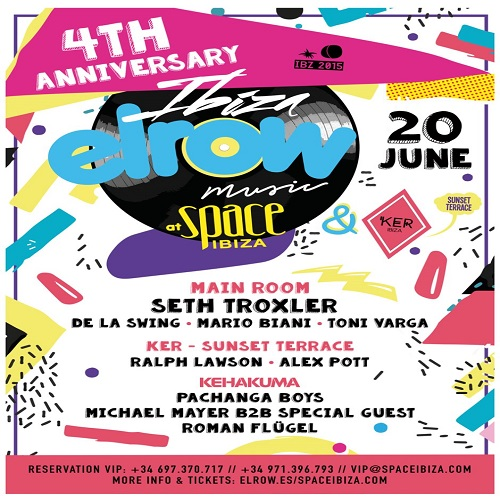 download → Seth Troxler - ElRow Ibiza 4th Anniversary, Space (Ibiza) - 1080p HD - 20-Jun-2015