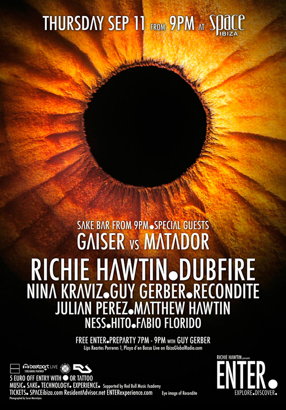 download → Dubfire, Guy Gerber, Gaiser VS Matador, Matthew Hawtin, Julian Perez, etc - Live At ENTER Week 11, Space, ibiza (720p HD) - 11-Sep-2014