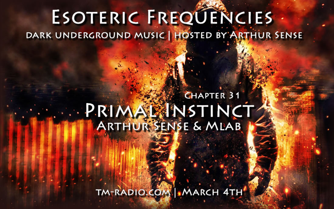 download → Arthur Sense & Mlab - Esoteric Frequencies on TM RADIO - March 2014