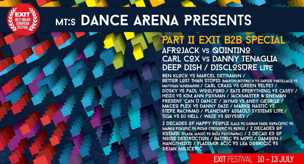 download → Waze VS Odyssey, Jaymo VS Andy George, Marko Nastic VS Steve Rachmad - live at Exit Festival 2014, Day 3, MT:S Dance Arena (Novi Sad) - 13-Jul-2014