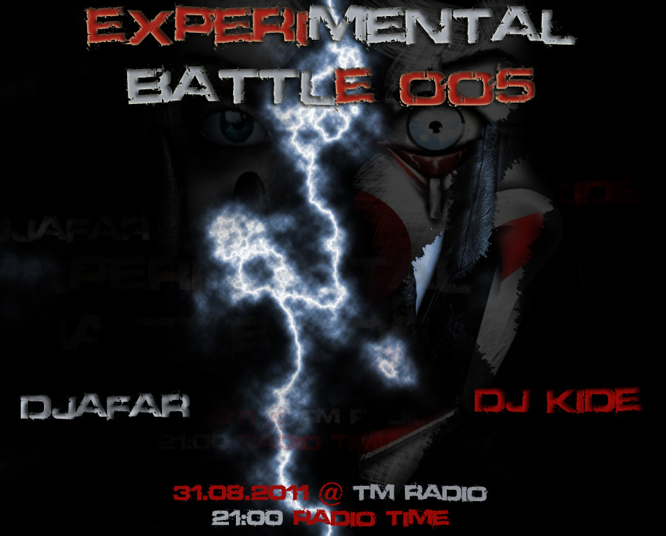 TribalMixes presents :: EXPERIMENTAL BATTLE 005 (aired on August 31st, 2011) banner logo