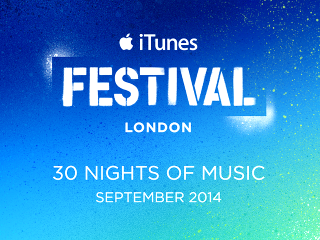 download → livesets from iTunes Festival London UK