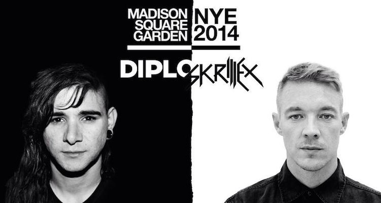 download → Diplo & Skrillex (Jack �) - Live at NYE Madison Square Garden New York City, 720p stream - 31-Dec-2014