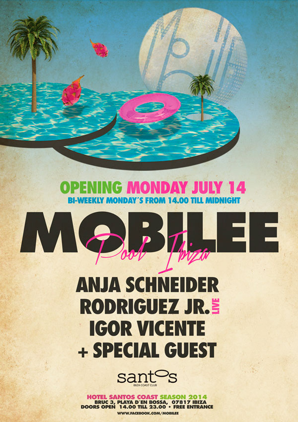download → Anja Schneider, Rodriguez Jr. (Live), Igor Vicente & William Kouam Djoko - Live At Mobilee Pool Ibiza Opening Party, Hotel Santos (Ibiza) - 14-Jul-2014