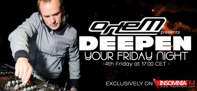 download → orteM - Deepen Your Friday Night On InsomniaFm 2013 Year Pack - 2013