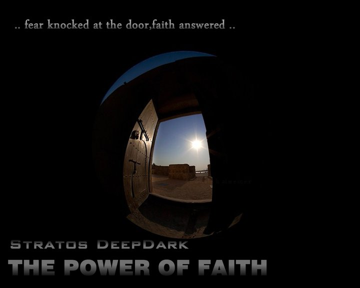 TribalMixes presents :: The Power Of Faith (aired on July 31st, 2011) banner logo