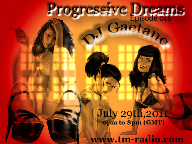 Progressive Dreams :: Episode aired on July 29, 2011, 6pm banner logo