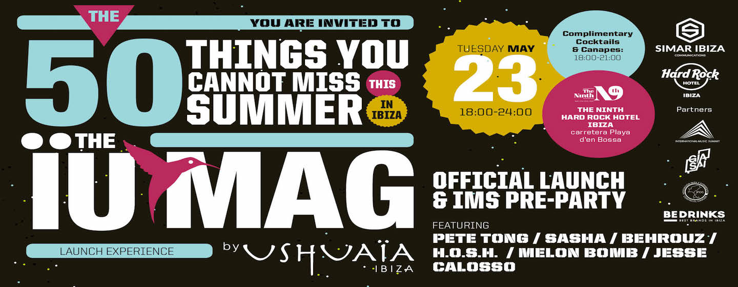 download → H.O.S.H. - Live at IUMAG presentation (Ibiza) - 23-May-2017