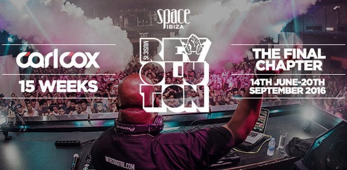 download → Carl Cox - @ Carl Cox - The Final Chapter (Opening Party) at Space Ibiza - 14-Jun-2016