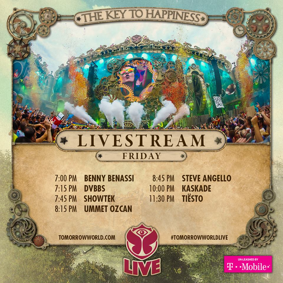 download → Tiesto, Kaskade, Steve Angello, Showtek, Ummet Ozcan, DVBBS & Benny Benassi - Live at Tomorrowworld Atlanta USA Day1, 1080p Stream - 25-Sep-2015